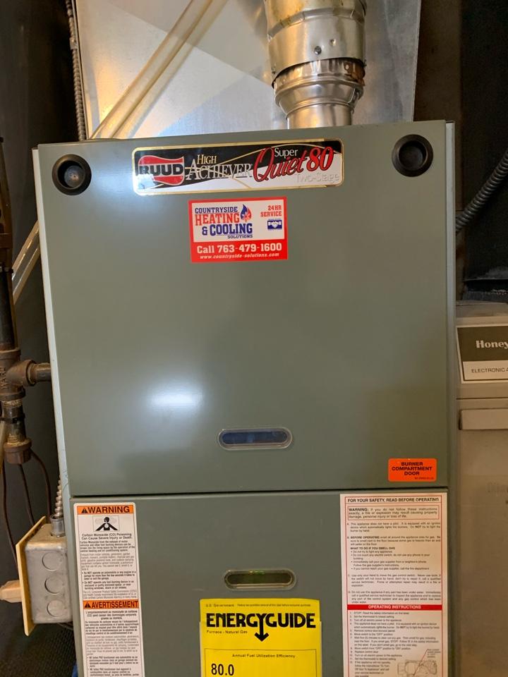 Fridley, MN - Furnace maintenance in Fridley Mn