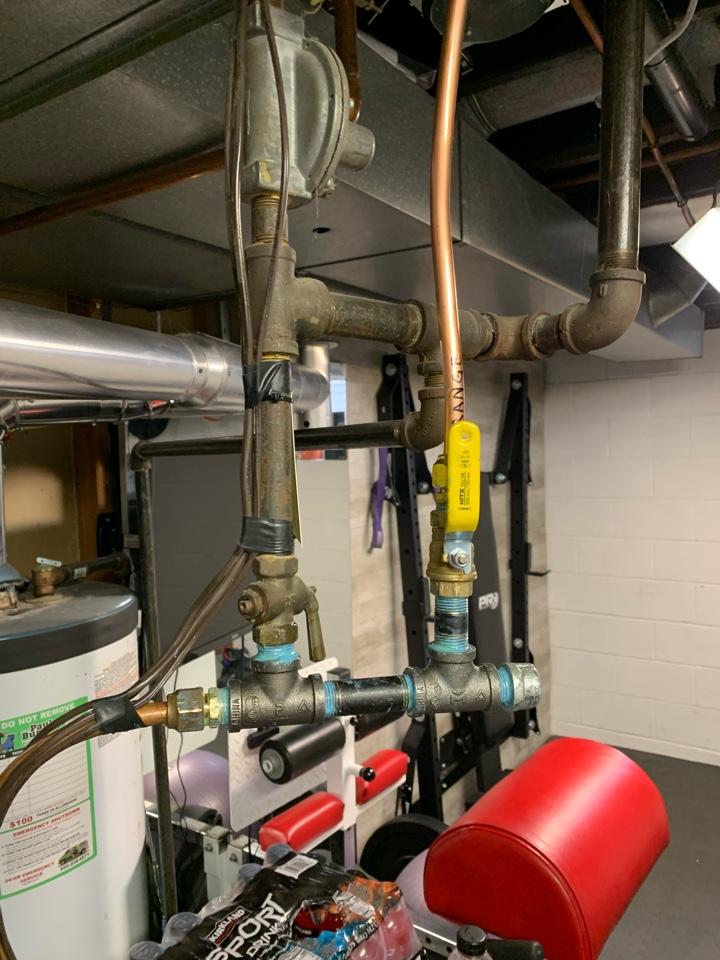 Excelsior, MN - Installed gas line in excelsior Mn