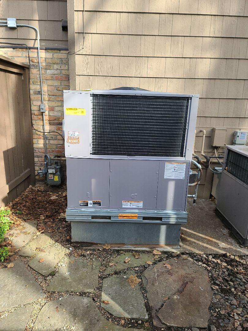 Wayzata, MN - Bryant package unit install  Wayzata Minnesota