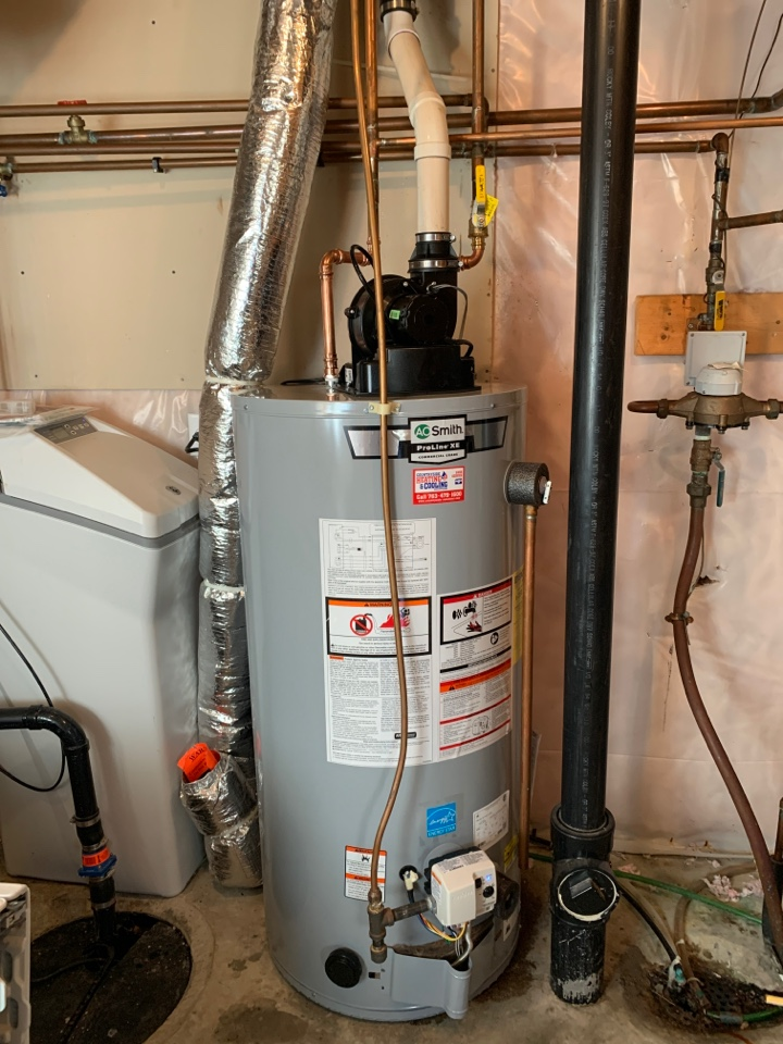 Plymouth, MN - Install new AO Smith water heater in Plymouth min