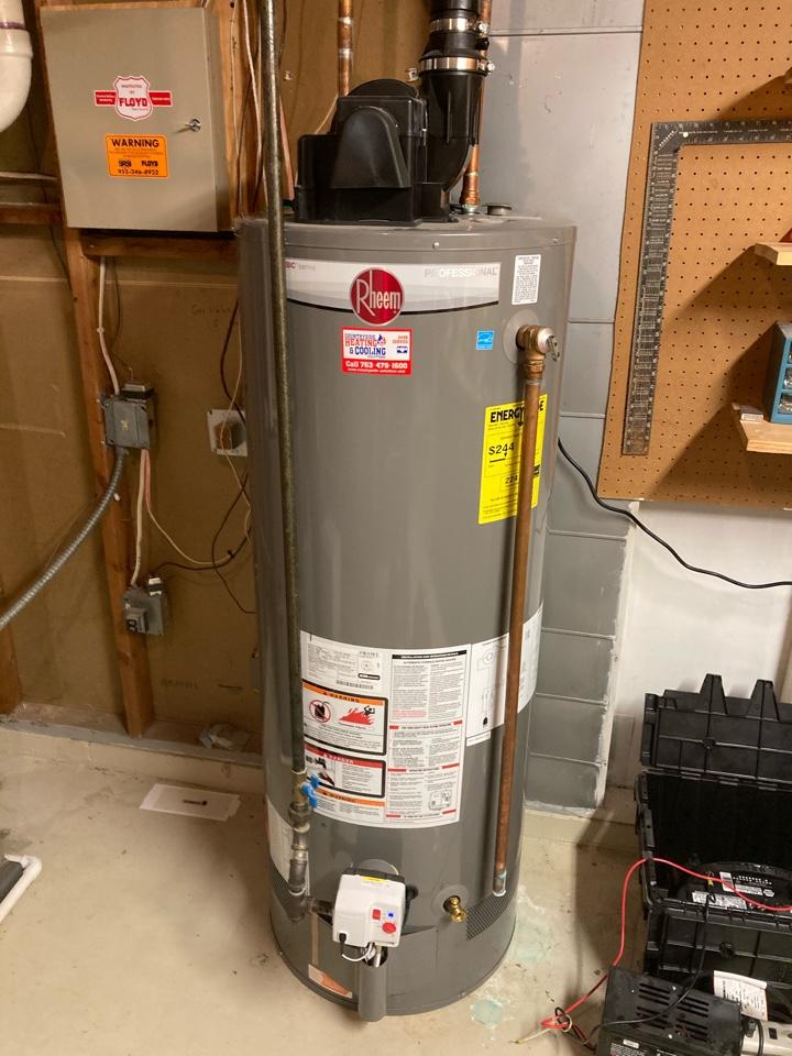 Wayzata, MN - Water heater repair in Orono
