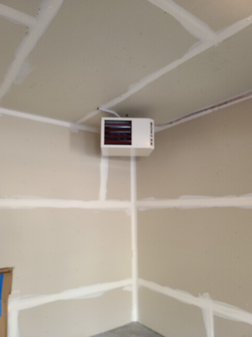 Plymouth, MN - Installed garage heater Plymouth MN