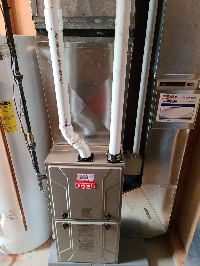 Saint Michael, MN - Bryant furnace replaced st Michael