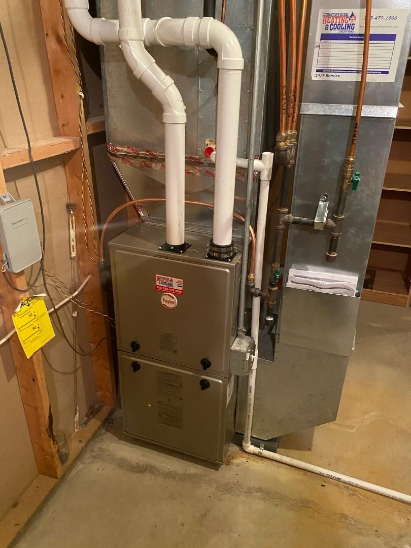 Wayzata, MN - Payne furnace installed Monticello MN