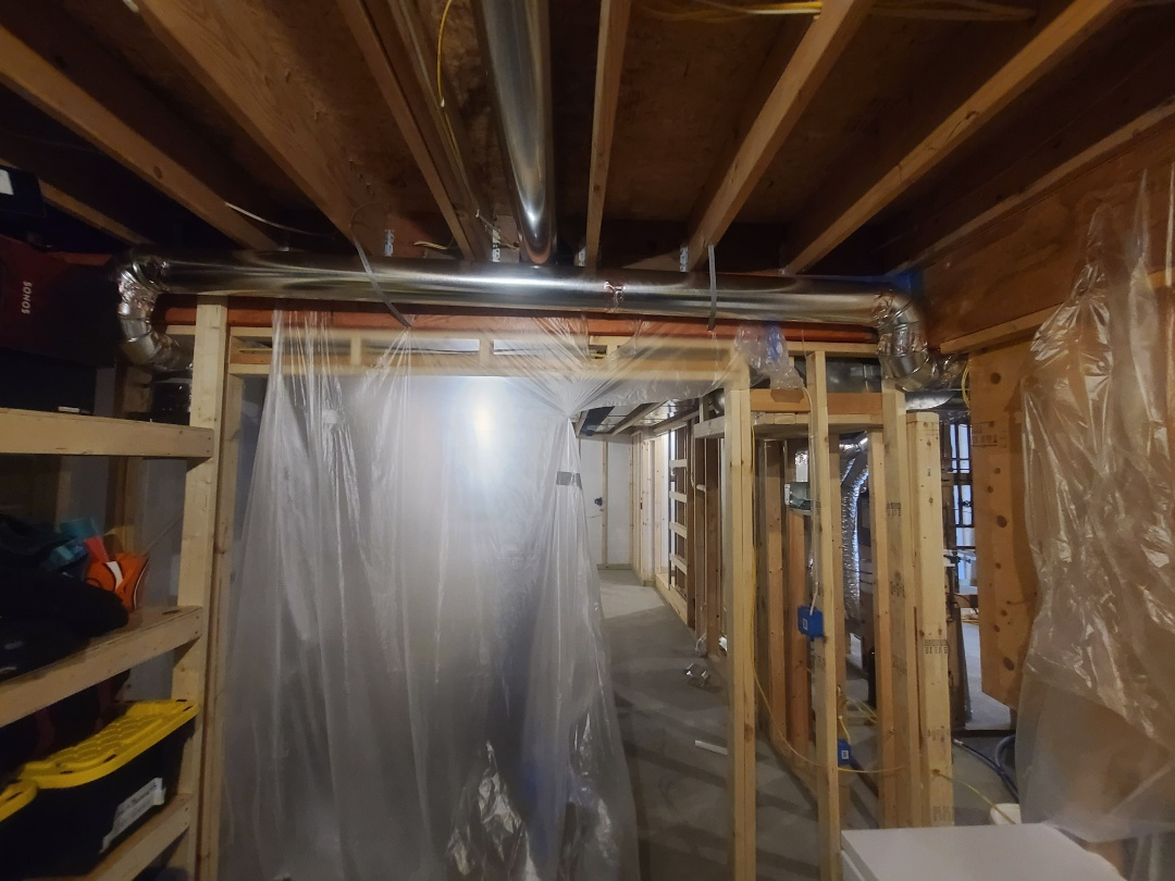 Osseo, MN - Installed a zoned supply maple grove Mn