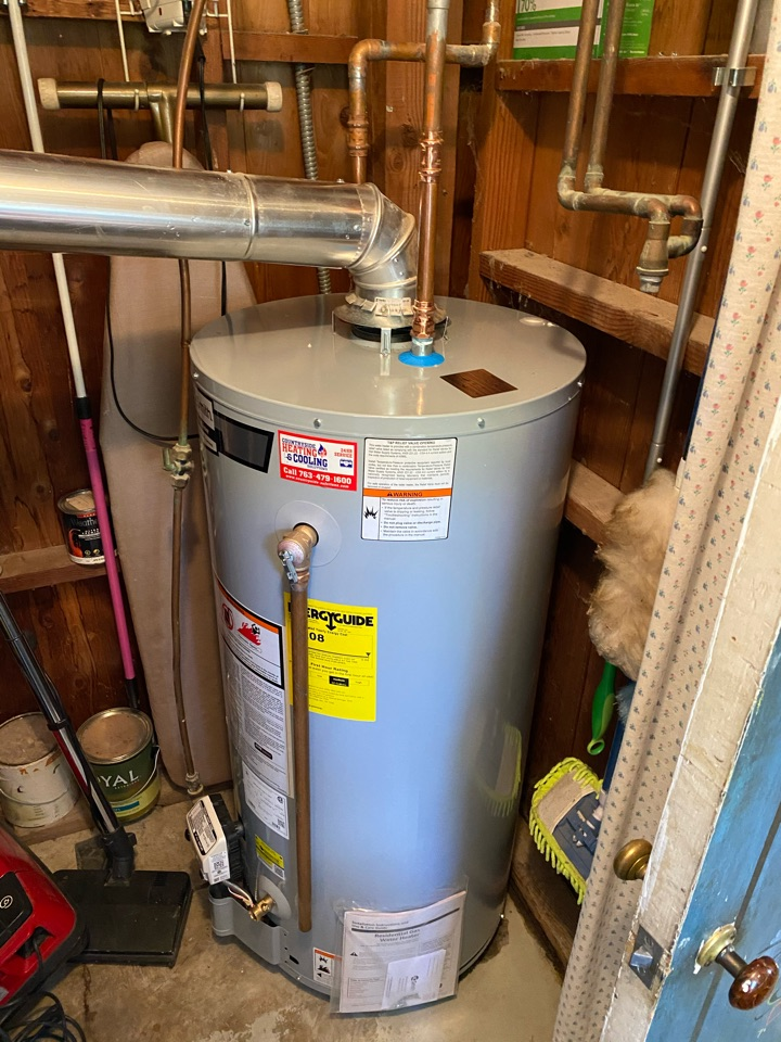Delano, MN - Ao smith water heater install Rockford mn