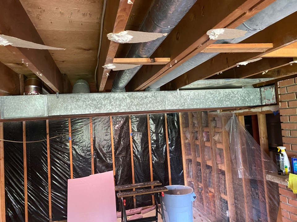 Delano, MN - Removed duct work and added a supply Delano MN