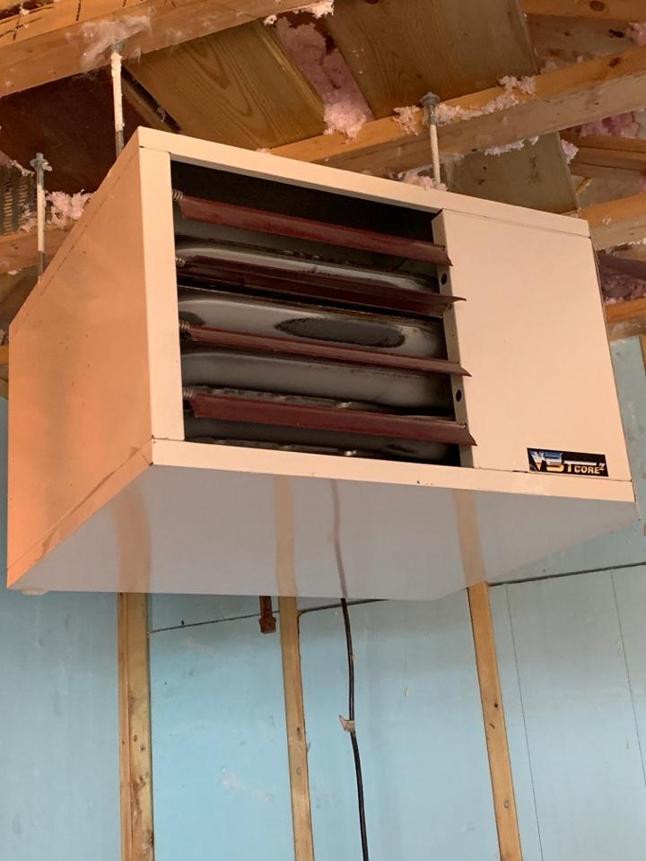 Maple Lake, MN - Garage heater inspection maple lake Mn