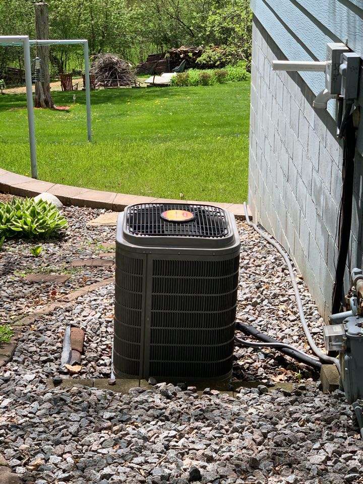 Performed a spring secured service maintenance in maple plain Mn