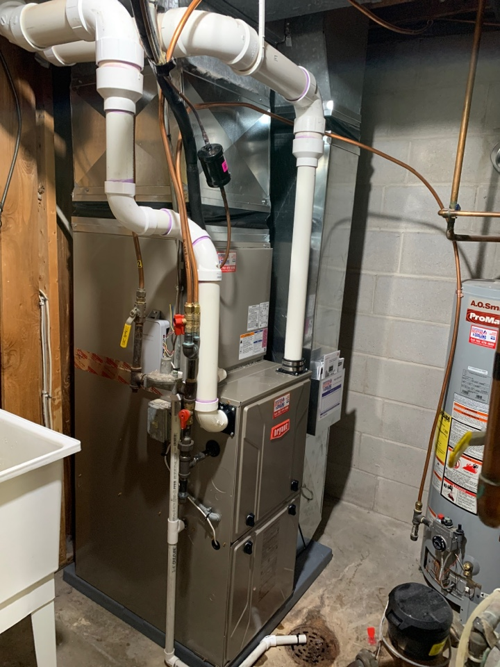 Excelsior, MN - Install new Bryant furnace and air conditioner in excelsior MN