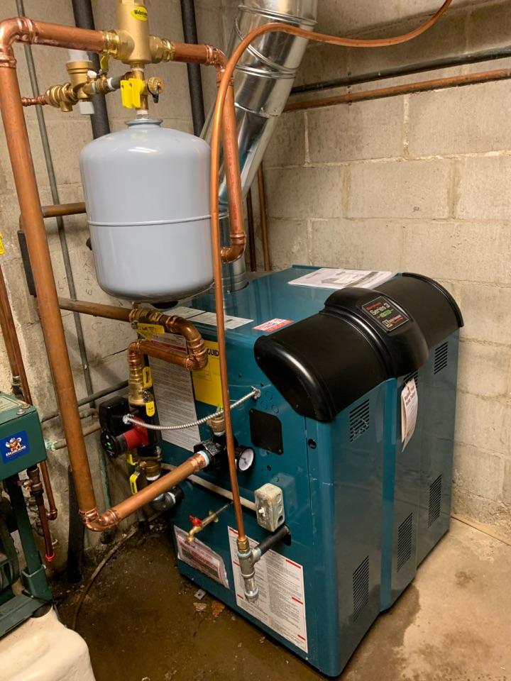 Install new boiler in Shakopee MN