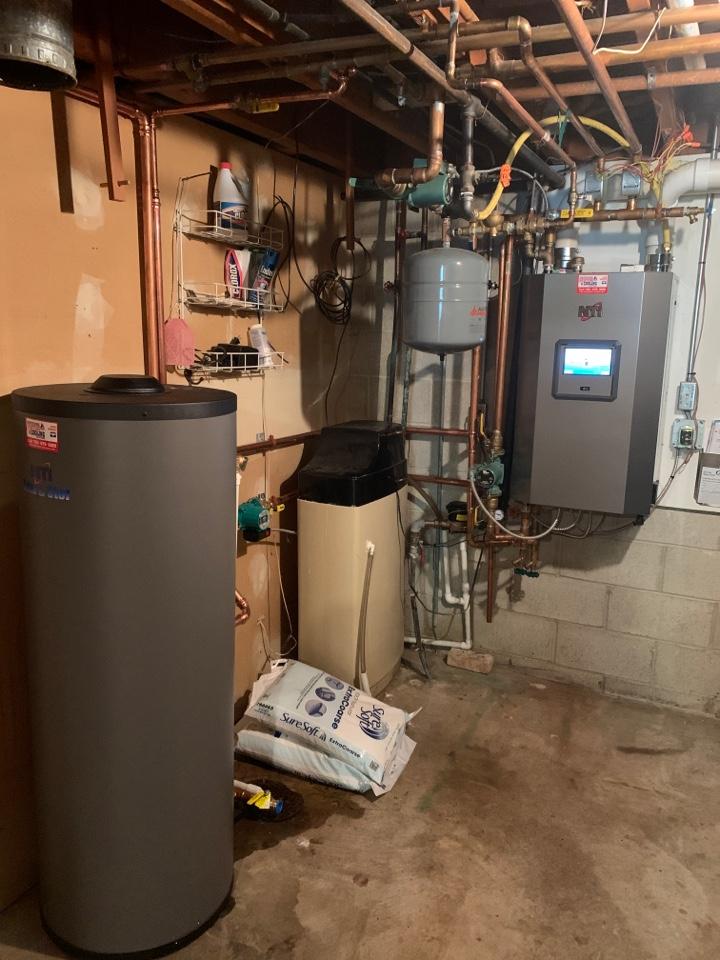 Waconia, MN - Install new NTI indirect water heater in waconia MN
