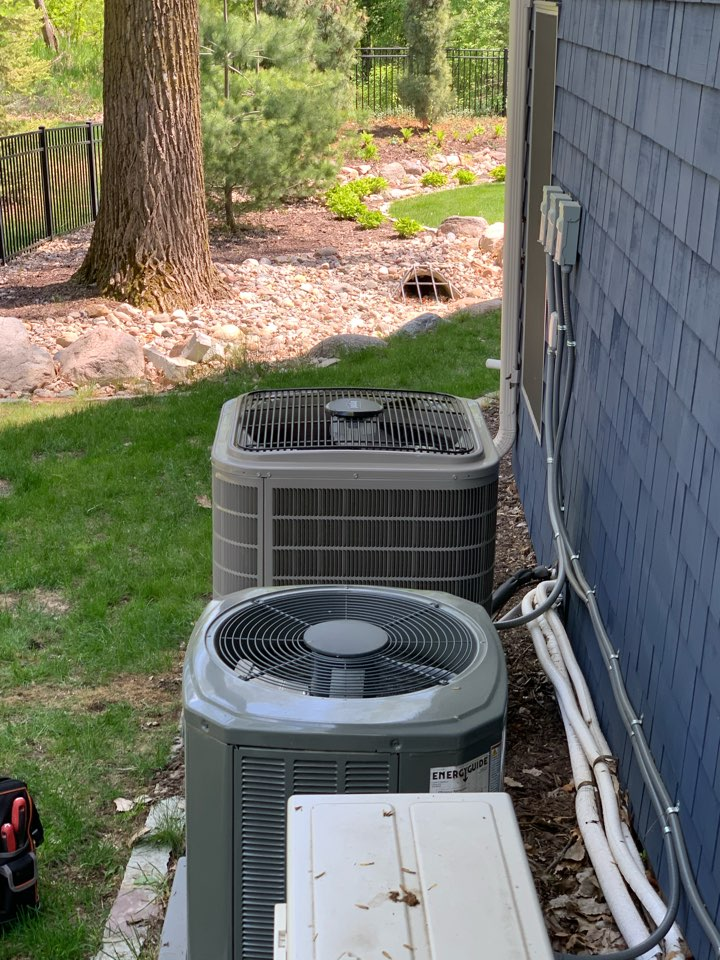 Plymouth, MN - Bryant AC check from initial install in Plymouth Mn