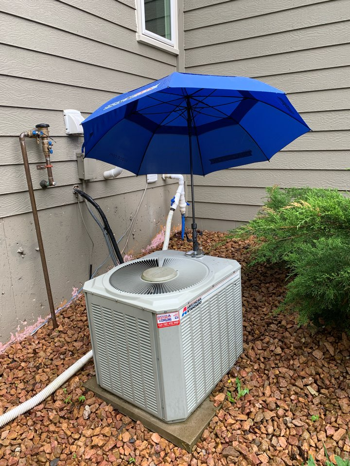 Maple Grove, MN - Ac repair on an American Standard air conditioner in maple grove Mn