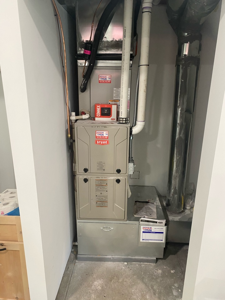 Annandale, MN - Bryant furnace and ac install Annandale MN