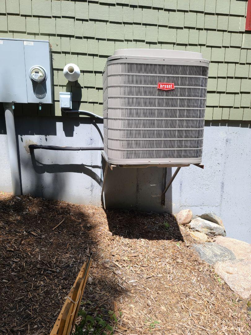 Bryant Heat pump installed Cokato MN