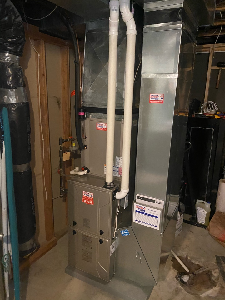 Watertown, MN - Bryant furnace and ac install Watertown MN