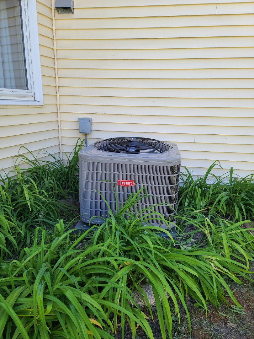 Plymouth, MN - Bryant A/C installed Plymouth MN