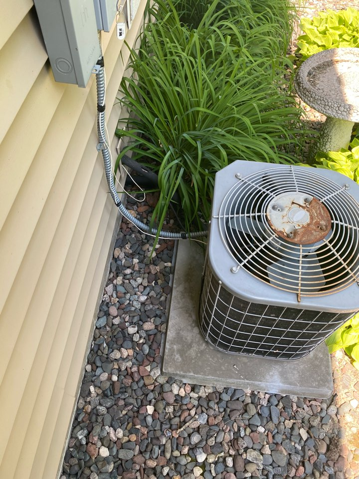 Air conditioning replacement estimate in Otsego, MN