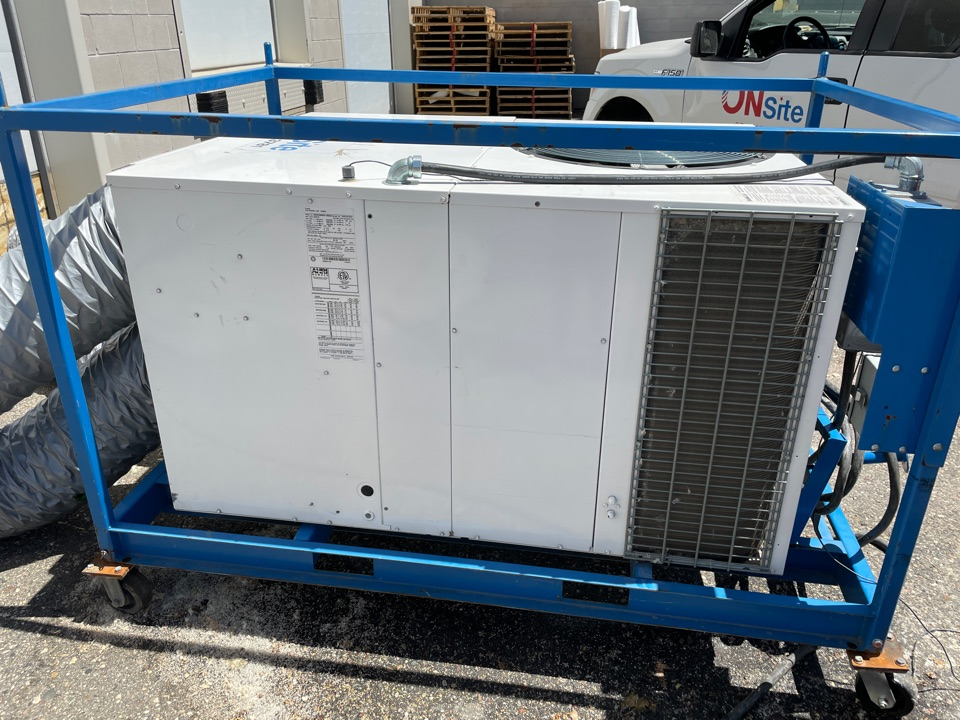 Buffalo, MN - Repaired a mobile commercial RTU at a business in buffalo, MN!