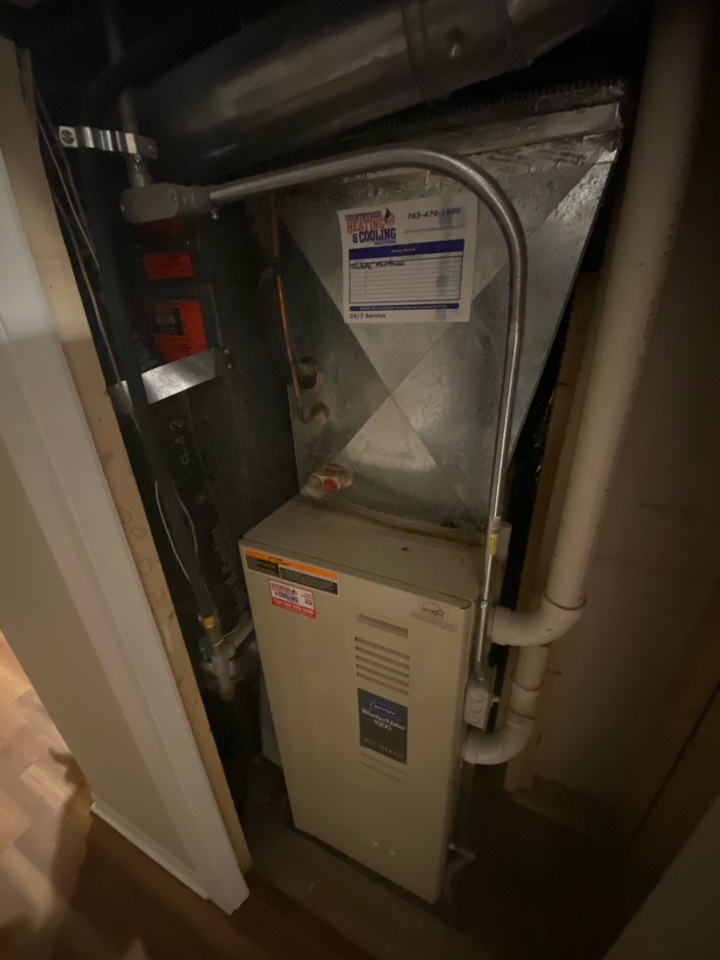 High efficient furnace and air conditioning installation estimate in Hopkins, MN