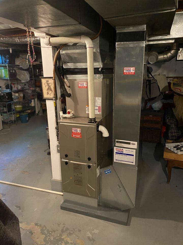 Long Lake, MN - Bryant furnace and ac install long lake MN