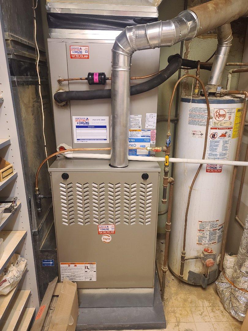 Watertown, MN - Payne furnace installed in Watertown MN