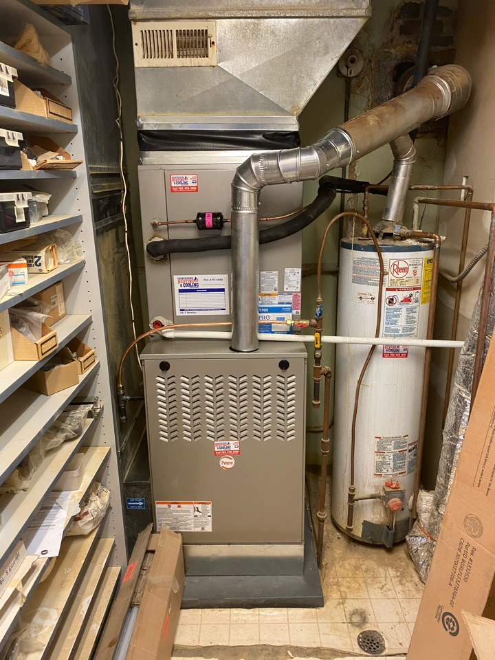 Watertown, MN - Payne furnace and ac install Watertown MN