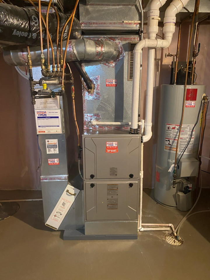 Minneapolis, MN - Bryant furnace install Plymouth MN