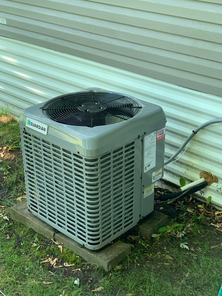 Annandale, MN - Performed a AC maintenance in Annandale Mn