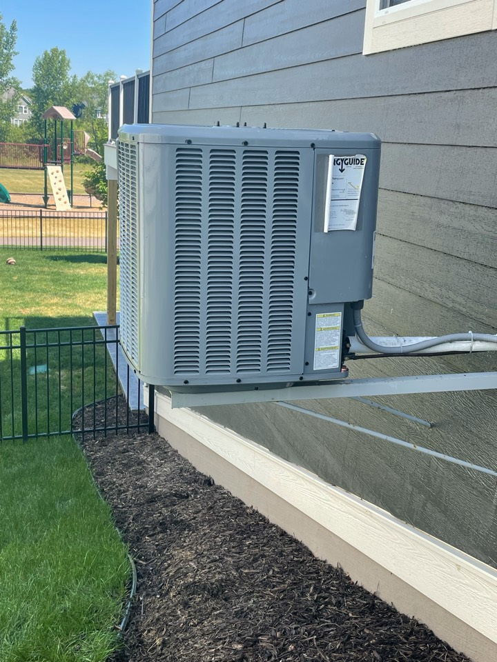 Tuned up a daikin ac at a home in st. Michael, MN!