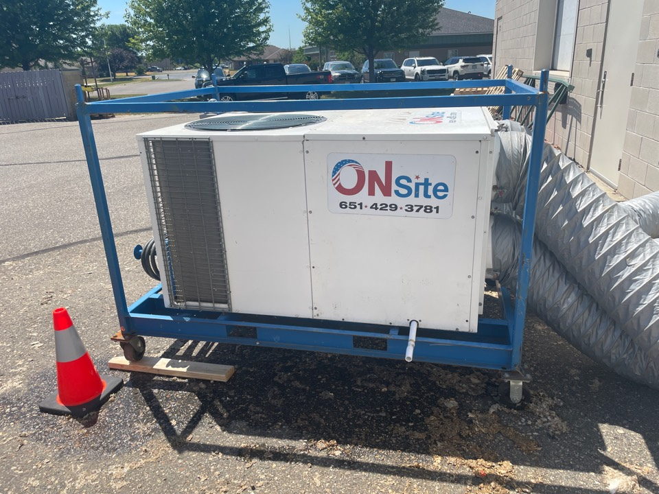 Buffalo, MN - Repaired a commercial RTU at a business in buffalo, MN!