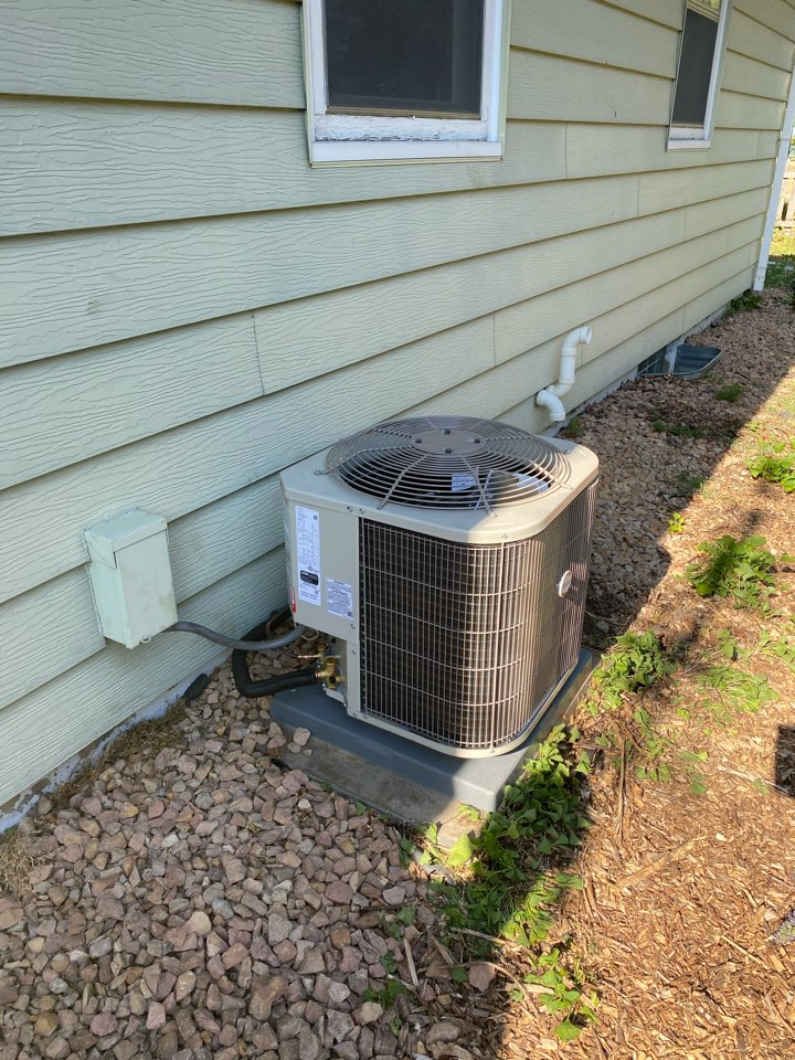 Payne ac install Winsted MN