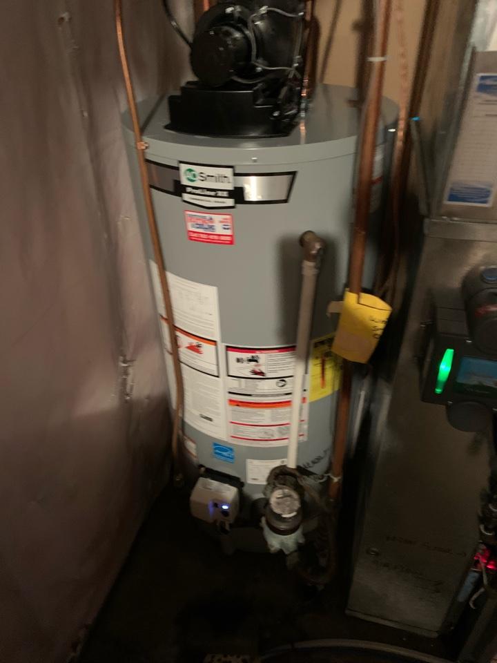 Water heater installed in hamel Mn