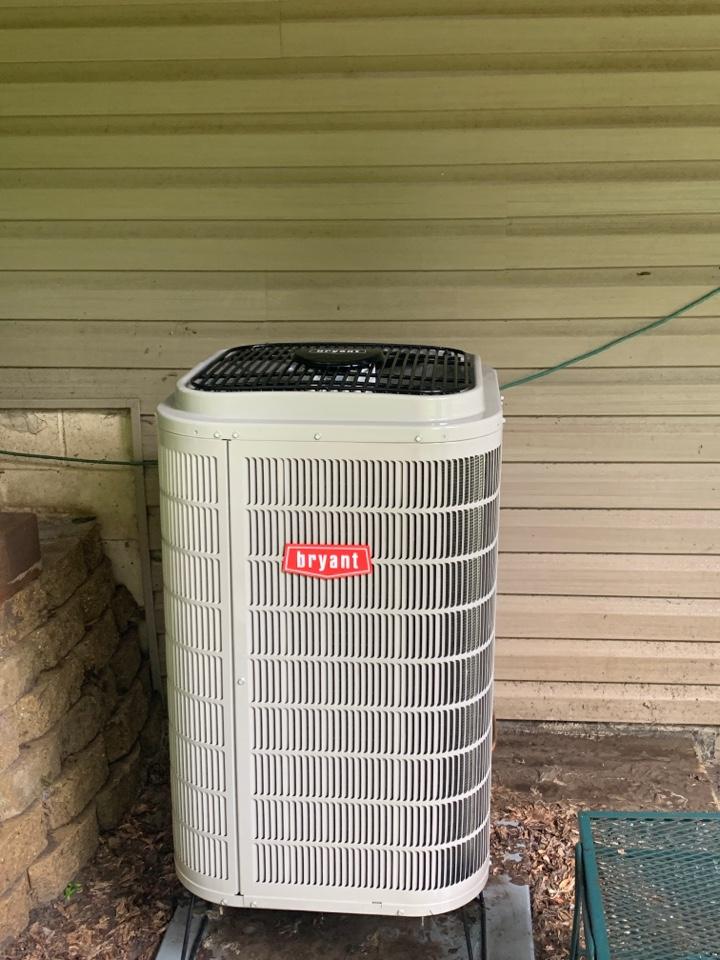 Performed a heat pump/ac maintenance in Howard lake Mn