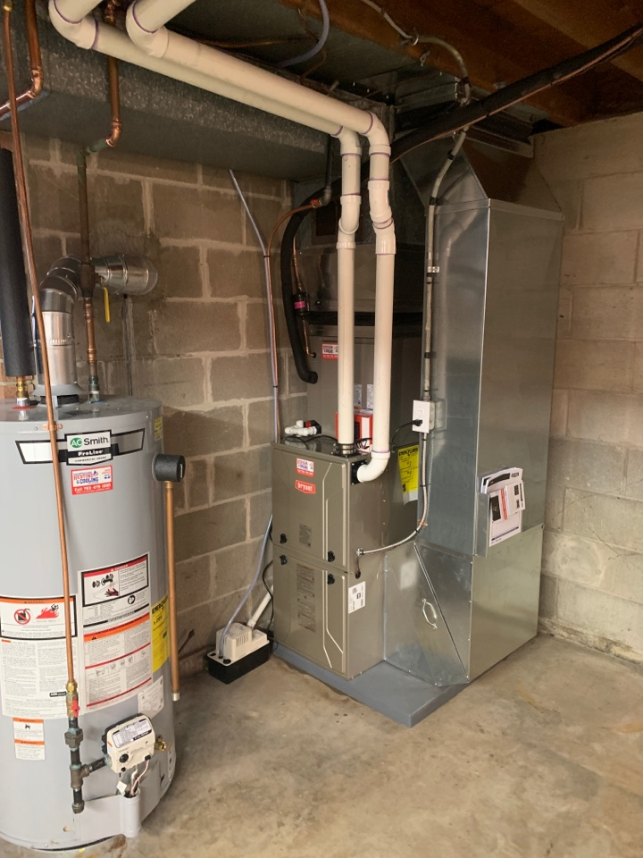 Maple Plain, MN - Install new Bryant evolution furnace and air conditioner with connex thermostat in maple plain MN
