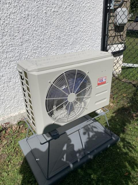 Install new Bryant duct less heat pump system in Howard lake MN
