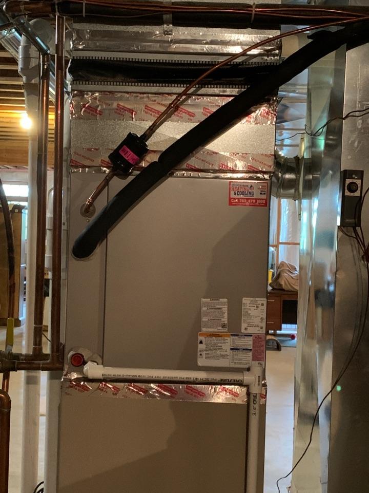 Install new Bryant evolution air conditioner in minnetrista MN