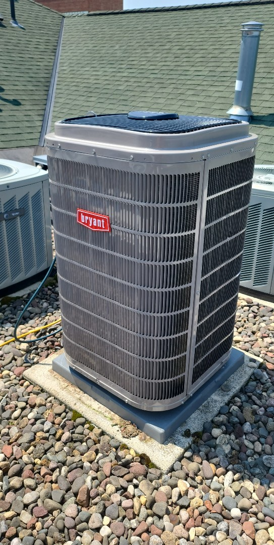 Bryant A/C installed in spring park mn