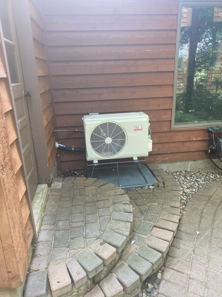 Bryant ductless ac install Medina MN