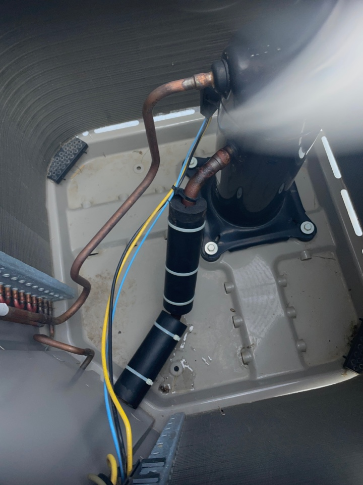 Plymouth, MN - Repaired a vibration noise on a Bryant ac at a home in Plymouth, MN!
