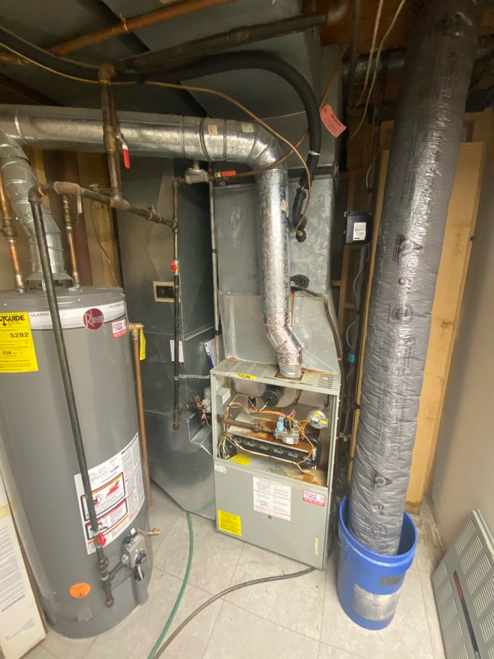Eden Prairie, MN - Duct work alterations, gas lines, humidification, IAQ products, and high efficient furnace and air conditioning estimate in Eden Prairie, MN