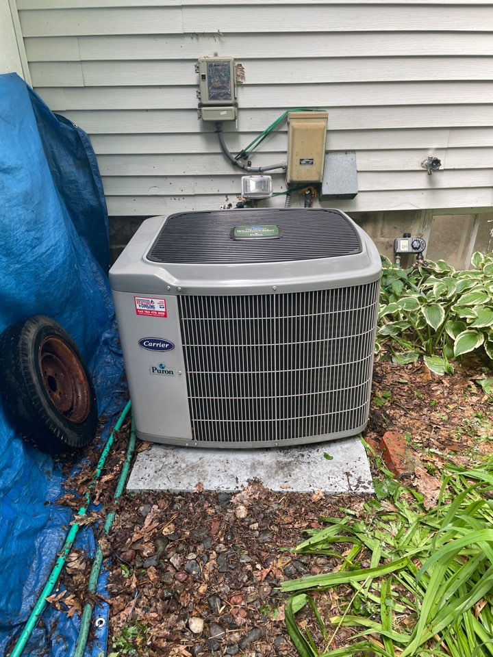 Plymouth, MN - Repaired a carrier ac ata a home in Plymouth, MN