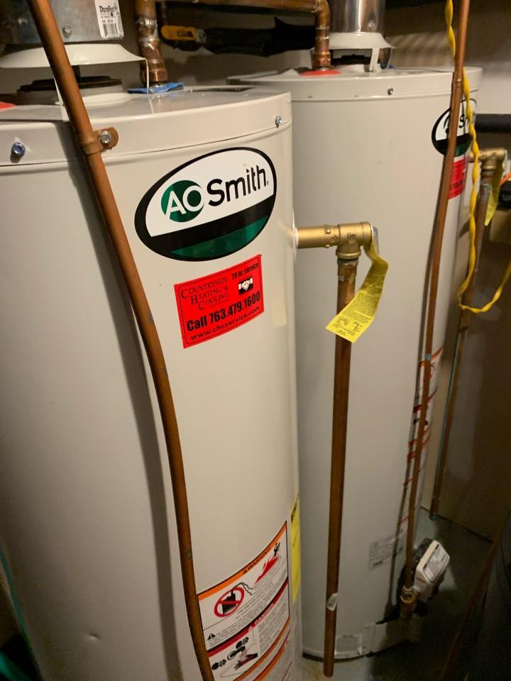 Orono, MN - Pressure relief valve repair in long lake Mn