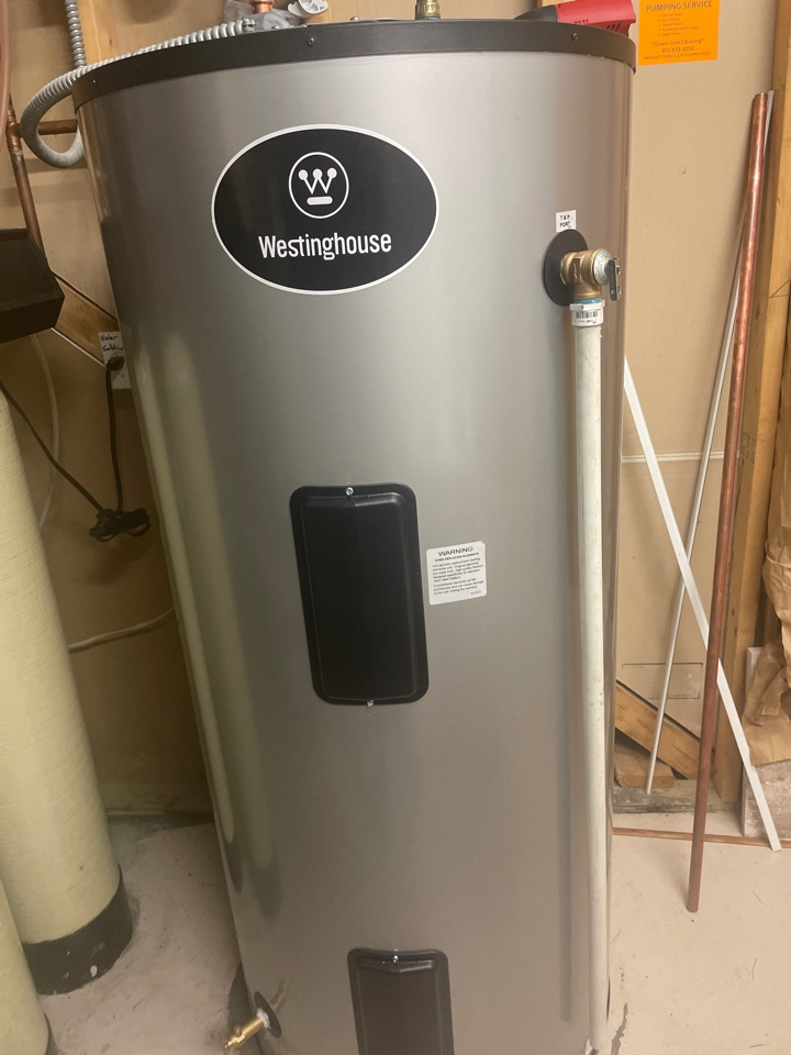 Maple Plain, MN - Installed a new electric water heater at a home in maple plain, MN! *