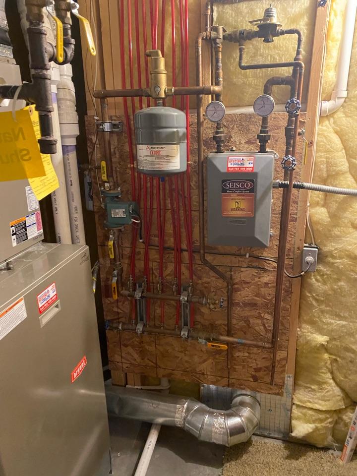 Boiler service median mn