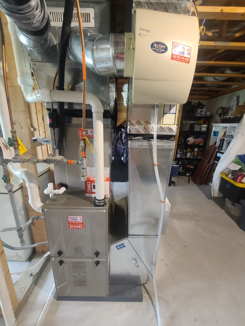 Cologne, MN - Byant furnace installed cologne MN