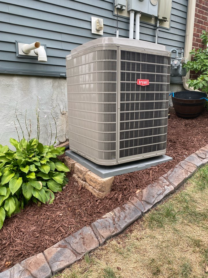 Cologne, MN - Bryant furnace and ac install Cologne MN