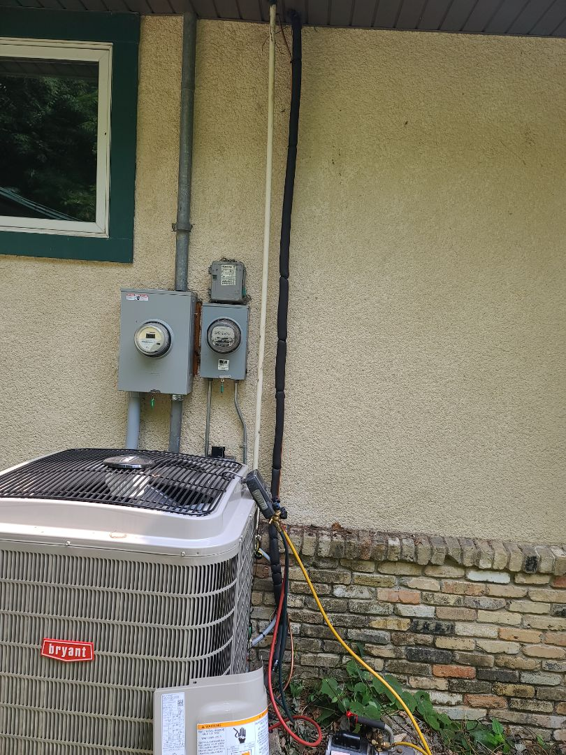 New lineset ran and new Bryant A/C