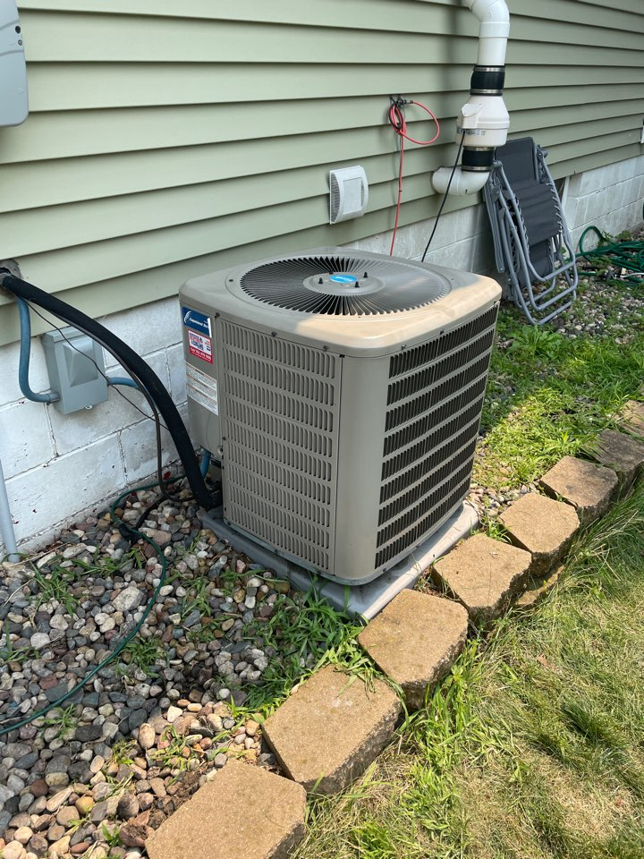 Replaced a compressor on a Goodman ac at a home in Mayer, MN!